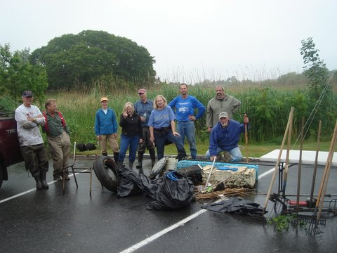 Creek Clean-up